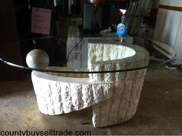 the brick glass coffee tables 1